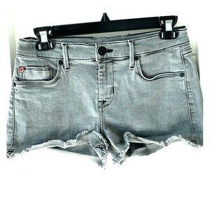 HUDSON super short denim cut-off shorts